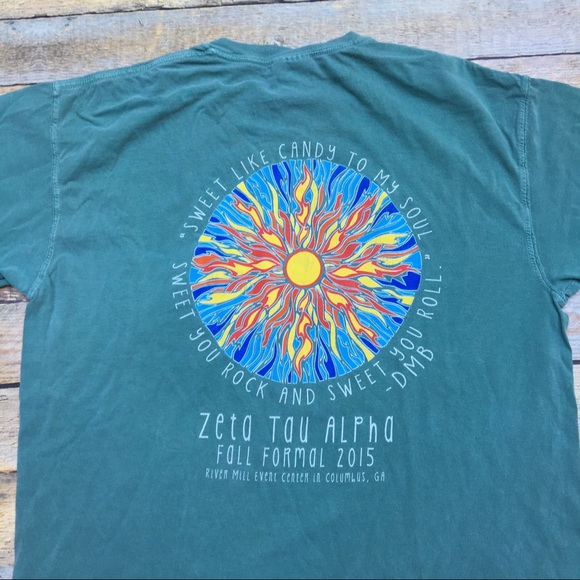 ZETA TAU ALPHA SORORITY GREEK LIFE T SHIRT
